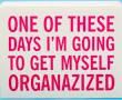 organized sign